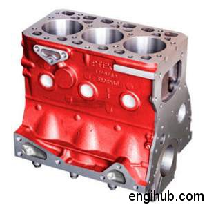 cylinder block internal combustion engine parts